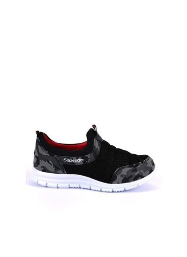 Slazenger Unisex Çocuk EVA Spor Ayakkabı SA10LF028-500X Siyah